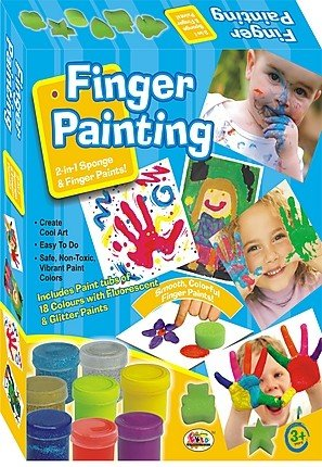 Ekta Finger Painting(Senior) 18 Colors Fun Game