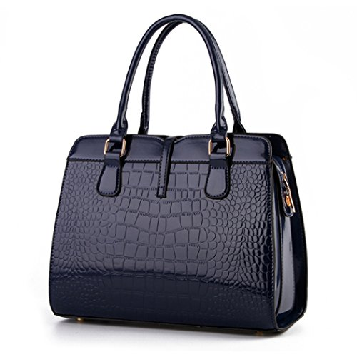 Borsa della borsa del hobo del cuoio del Faux della borsa della borsa della borsa della borsa delle donne Viola