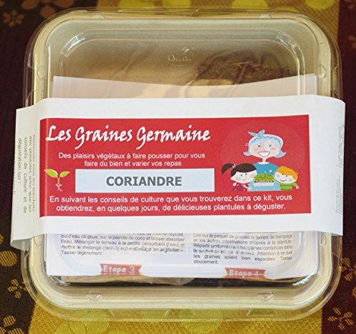 Kit pour plantules - Coriandre - graines et substrat bio