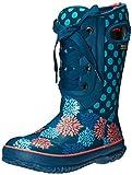 Bogs Casey Pompons Dots Winter Snow Boot (Toddler/Little Kid/Big Kid), Legion Blue/Multi, 10 M US Toddler