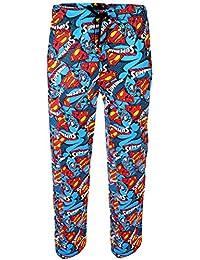Pantalon Hommes Superman Print Cotton Lounge Tailles S, M, L, XL