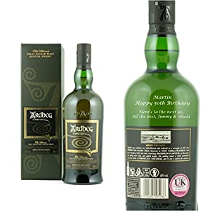 Personalised Ardbeg Corryvreckan Single Malt Whisky 70cl Engraved Gift Bottle by Ardbeg