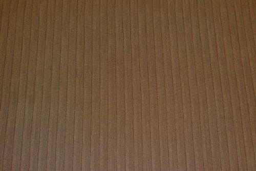 Chor Anzug (Dora - Wollstoff braun - Stoff Meterware - 15 % Wolle - 30 % Polyester - 50 % Viskose - 5 % Elasthan - Grundton: braun/schilf - Fischgrat - Muster)