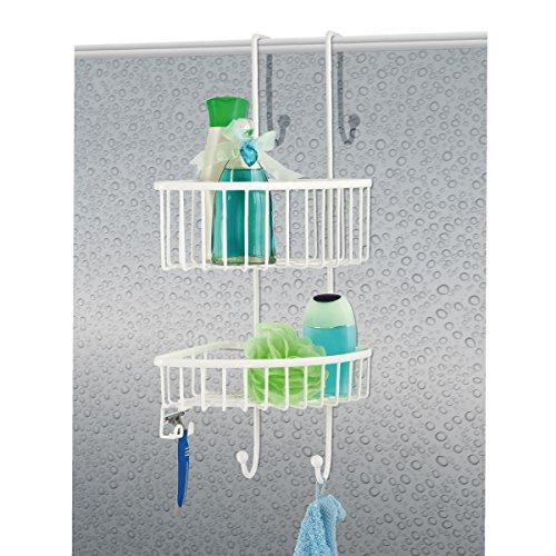 bremermann dusch eckregal duschkorb badregal zum einh ngen 2 k rbe bei anazo kaufen. Black Bedroom Furniture Sets. Home Design Ideas