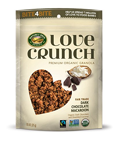 Nature's Path Organic - Premium organico amore Crunch Granola scuro cioccolato Amaretto - 11,5 oz.