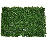 DIY Artificial 3D Green Wall Garden Decor Plants Plastic Grass Green Landscaping Square Lawn Eucalyptus Leaves Lawn