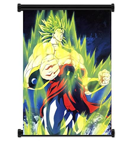 Dragon Ball Z Anime Broly Fabric Wall Scroll Poster (16x21) Inches