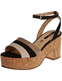 MTNG Collection Shia, Sandalias con Plataforma para Mujer