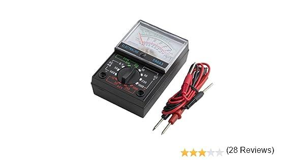 Electraline 59505 Multimetro Pinza Amperometrica Digitale Misuratore Autoregolabile Senza Contatto di Tensione Multi Tester di AC//DC Tensione /& Corrente Resistenza Capacit/à Frequenza e Diodo