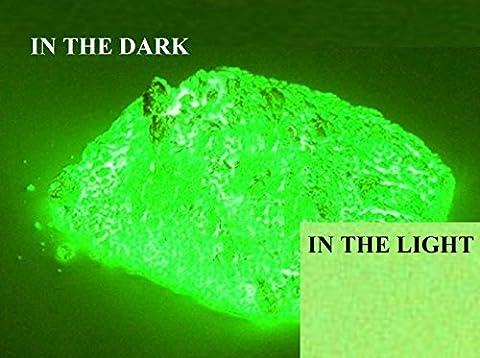 100 % pur pigment en poudre Glow de haute qualité luminescentes The Dark - Couleurs et choix Quantité