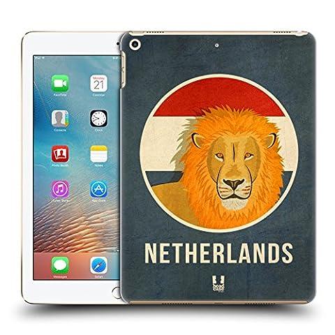 Head Case Designs Pays-Bas Animaux Patriotiques Étui Coque D'Arrière Rigide Pour Apple iPad Pro 2 9.7 (2017)