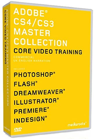Adobe Master Collection CS4 & CS3 Training Bundle (MAC/PC DVD) [import anglais]