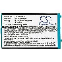 CS-NTSPSL Batería 900mAh Compatible con [Nintendo] Advance SP, AGS-001, GBA SP sustituye AGS-003, Sam-SPRBP