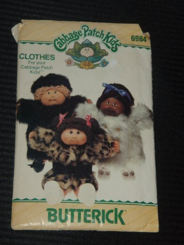 butterick-6984-sewing-pattern-cabbage-patch-kids-coats-by-butterick