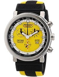 Formex 4 Speed RS700 - Reloj cronógrafo de caballero de cuarzo con correa de silicona multicolor (cronómetro) - sumergible a 100 metros