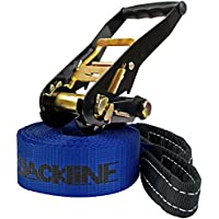 Slackline 10 m (capacity 2 tons) for children Tightrope