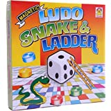 Kids Mandi TM Techno Magnetic Ludo, Snakes And Ladder Board Game For Fun And Family