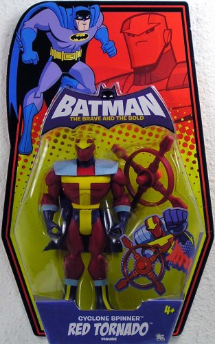 Batman - cyclone spinner red tornado (n5729)