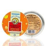 Pei Pa Koa - dolor de garganta Herbal 60g caramelo - 100% Natural (mandarina