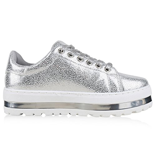 napoli-fashion , Sneakers Basses femme Silber