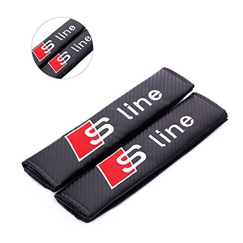 Fireman's Pair New Carbon Fiber Seat Belt