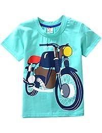 Zolimx Ropa de Bebé Niño Niñas Camisetas de Manga Corta Blusa de Camiseta de Impresión de