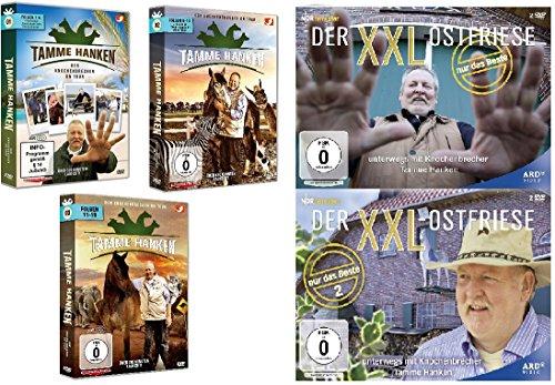 Das große Tamme Hanken Set - Der Knochenbrecher on Tour (DVD 1-3) + Der XXL-Ostfriese - Nur das Beste (1+2) (13 DVDs)