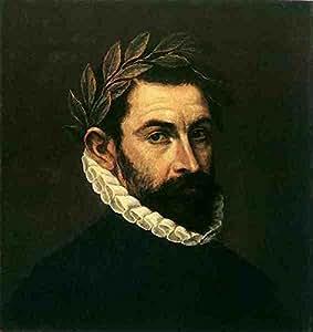 Metal Sign El Greco Poet Ercilla Y Zuniga 1590 1600 A4 12x8 Aluminium