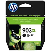 HP 903xl High Yield Ink Cartridge, Black - T6M15AE