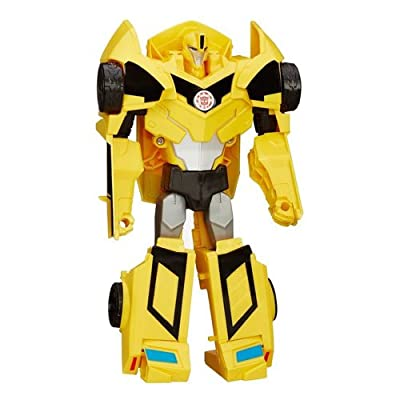Transformers Figura Bumblebee 3 Pasos Mágicos (Hasbro B0897ES0)
