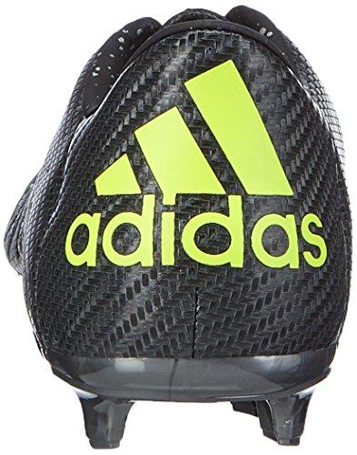 Adidas - Chaos Low Fg/Ag, Scarpe Da Calcio da uomo Nero (Schwarz (Core Black/Solar Yellow/Night Met. F13))
