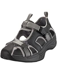 Chung Shi Comfort Step Sandale Trek schwarz 9101055, Unisex - Erwachsene Sandalen/Outdoor-Sandalen