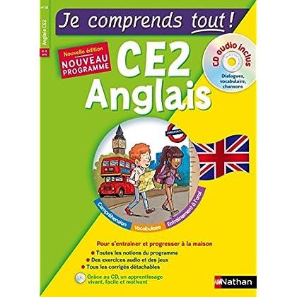 Anglais CE2 - cours + exercices + audio - Je comprends tout - conforme au programme de CE2