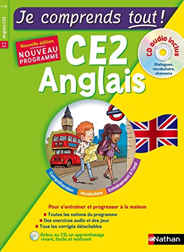 Anglais CE2 - cours + exercices + audio - Je comprends tout - conforme au programme de CE2 par Marie-Claire Sole