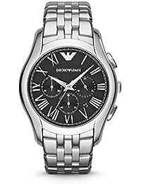 Armani AR1786 - Reloj con correa de acero para hombre, color negro / gris