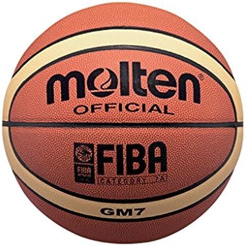 Molten BGM7 - Balón de baloncesto, color naranja, tamaño 7