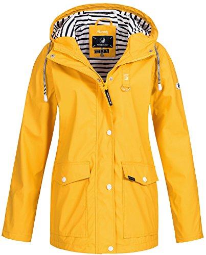 Damen Regen-mantel Yellow (Voile Bleue Damen Regenjacke Biarritz yellow XXL)