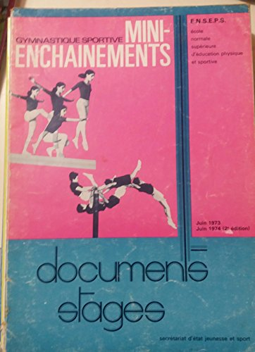 gymnastique sportive mini enchainements documents stages juin 1973