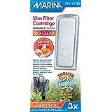 Marina Filtre pour Aquariophilie Cartouche Bioclear Slim