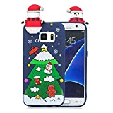 Forhouse Phone Hülle für Samsung Galaxy S7 Hülle Backcover Protective Shell Back Bumper Cover [ Christmas Tree ]