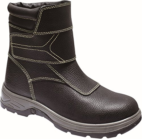 Delta Plus Delta Fusion S3SRC Feuerfestes Gießerei Stahlkappe Sicherheit Herren Stiefel, schwarz (Schuhe 13 Fusion)