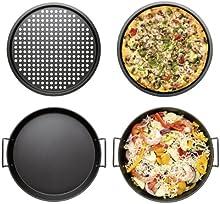 Sagaform - Sartén de pizza para barbacoa