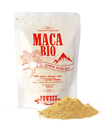 Powder Maca Ecológica en Polvo - 250 gr