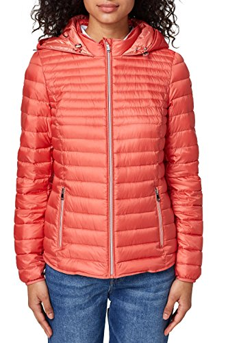 Esprit Jacke Winter (ESPRIT Damen Jacke 127EE1G006, Orange (Coral Orange 870), Medium)