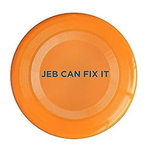 YFF Frisbee Orange, One Size : YFF Jeb Can Fix It 150 Gram Ultimate Sport Disc Frisbee Yellow
