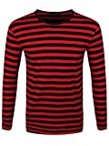 Search : Striped Red and Black Long Sleeved T-Shirt