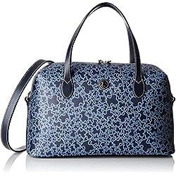 TOUS 695800096, Bolso bolera para Mujer, Azul (Marino), 35x20x13 cm (W x H x L)