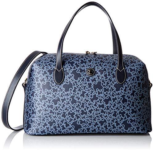 TOUS Damen 695800096 Bowling-Tasche, Blau (Marino 505), 35x20x13 cm (Tasche Tous)