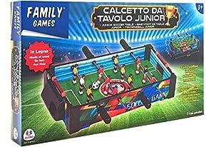 GLOBO- Wooden Soccer Table Cm50,5X30X9 (36608), (1)