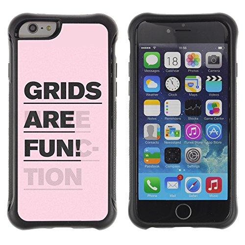 """Graphic4You """"Expect Nothing..."""" Life Proverb Zitat Design Shockproof Anti-Rutsch Weichen Hülle Case Tasche Schutzhülle für Apple iPhone 6 / 6S Design #7"""